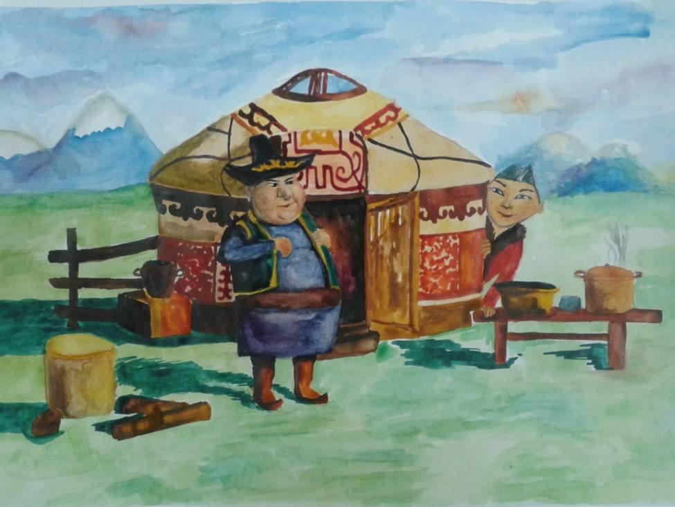 страха картинки раскраски из казахских сказок чем начать